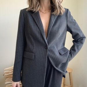 Tommy Hilfiger Jackets & Coats - Pinstripe Charcoal Casual Blazer nwt